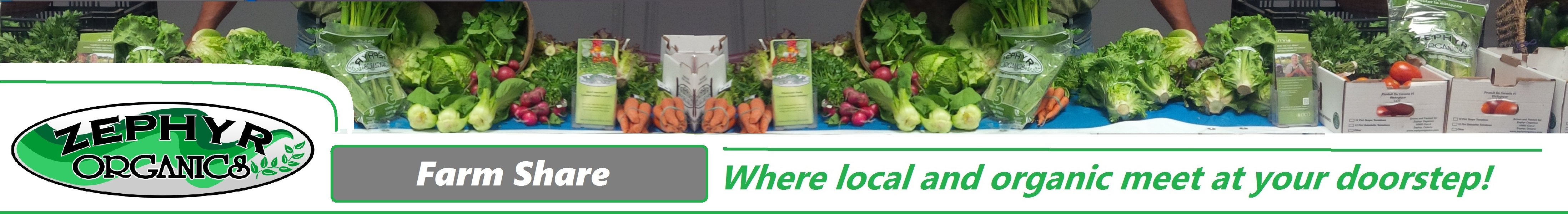 Zephyr Organics Farm Share